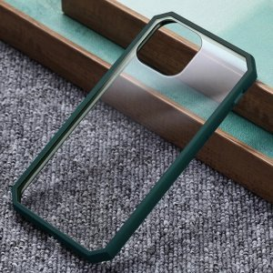 Dark Green Bumper Shockproof Case For iPhone
