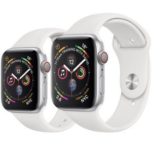 Pure White iWatch Silicone Strap Compatible with Watch Series Se/6/5/4/3/2/1