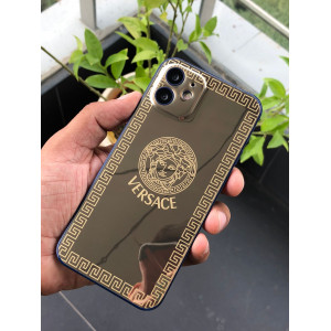 Versace Iphone Luxurious Golden Skin Design 2